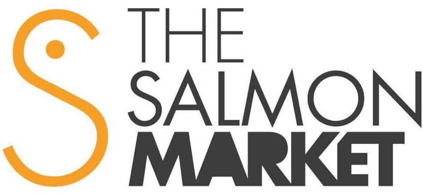 Logo the salmon market